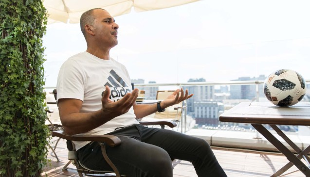 Ruud Gullit Talks England & World Cup In Moscow - SoccerBible