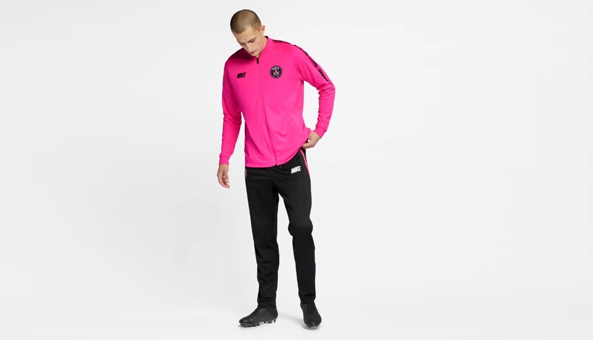 psg nike drop pink 2019 training