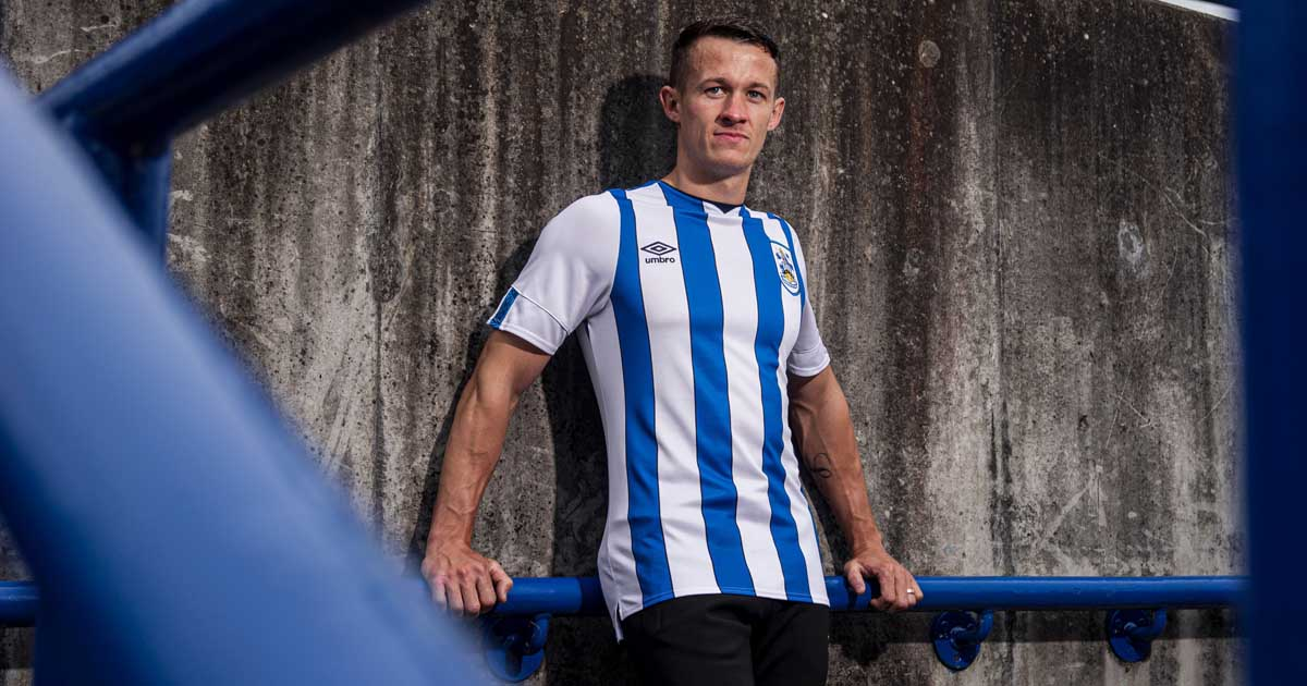Paddy Power Amp Umbro Unveil Actual Huddersfield 19 20 Kits