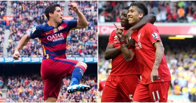 Image result for Liverpool and Barcelona