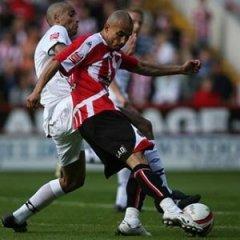 Danny Webber of Sheffield United