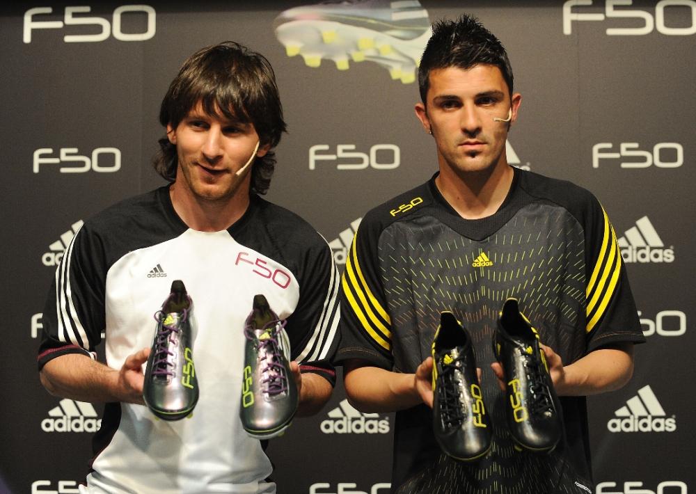 720a3ce833e Messi and Villa  F50 adiZero Speed on Speed
