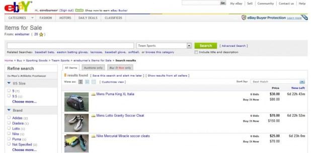 SC101 eBay Sale