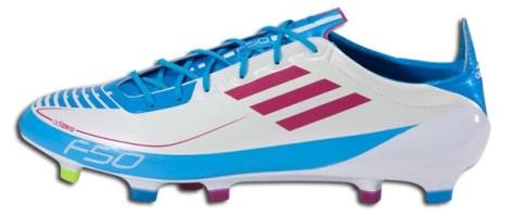 Adidas adizero Prime in White Cyan