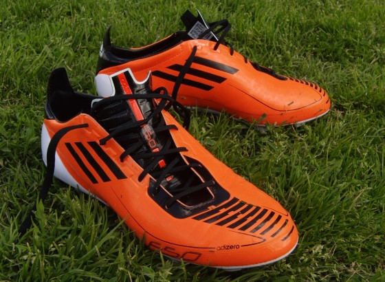 F50 adiZero Warning