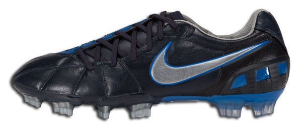 8a785c1ef21 Stores Nike T90 Laser III Leather in Dark Obsidian