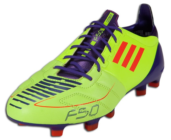 ff0c6673cb3 Adidas F50 adiZero Electricity. You might have spotted some images of the boots  Lionel Messi was going to wear in last nights Champions League final ...