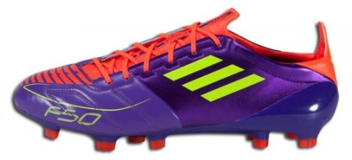 Anodized Purple F50 adizero