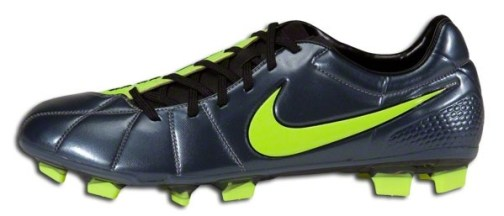 Metallic Blue Nike T90 Laser