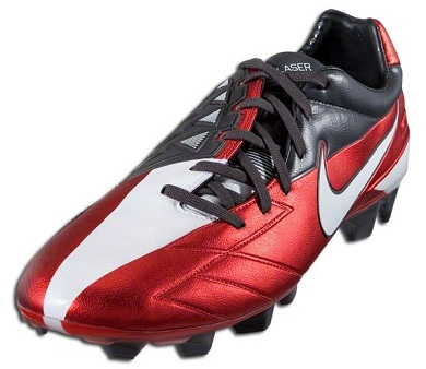 87efeda0f Nike T90 Laser IV in Challenge Red Released