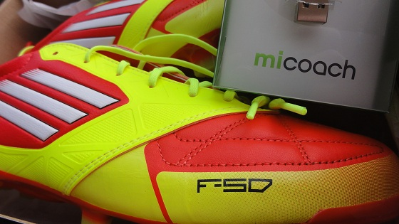 adiZero and miCoach Chip