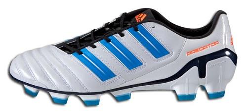 White Sharp Blue Adidas adiPower