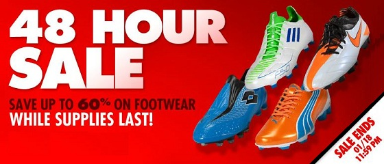 Soccer 48 Hour Deal