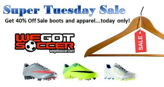 Super Tuesday Sale