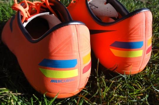 Nike Vapor 8 Heel Design