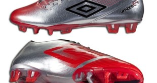 Umbro GT2 Pro Silver and Red