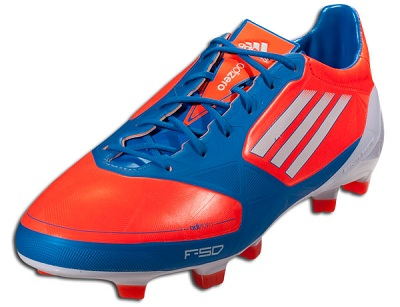 F50 adiZero Infrared Blue