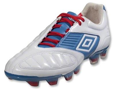 Umbro Geometra Pro in White Blue