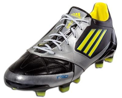 Adidas F50 adiZero Black Silver