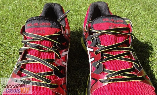 Lacing System on Asics GEL-Blur