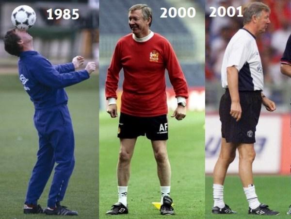 Alex Ferguson Boots