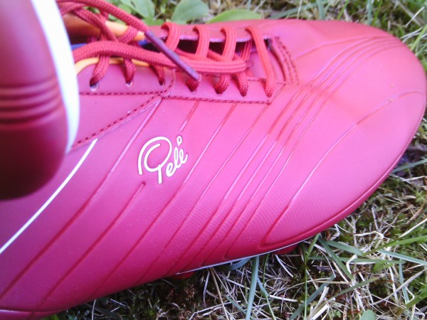A look at the Microfiber and  laces