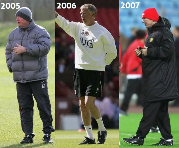 Sir Alex 2005 to 2007
