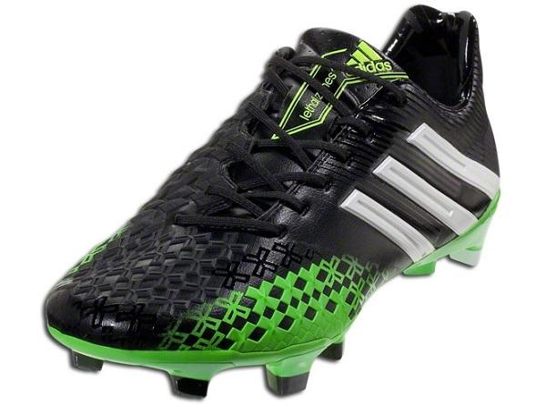 Adidas Predator LZ BlackRay Green | Soccer Cleats 101
