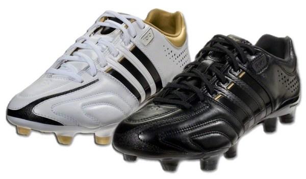 Adidas 11pro Black White Gold