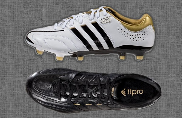 9d596f00f Adidas adiPure 11pro in White and Black Revamped