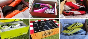 Soccer Cleats Boxed
