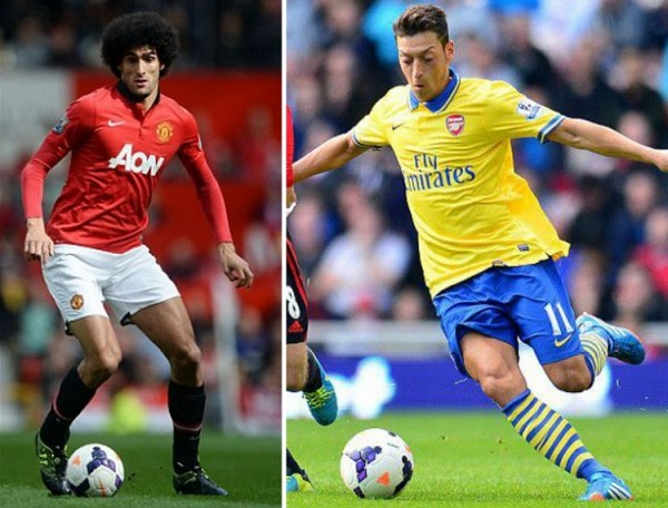 Fellaini and Ozil