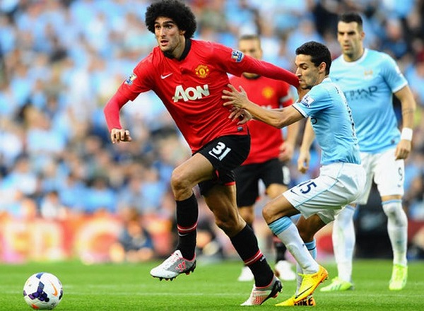 Fellaini in Warrior Gambler