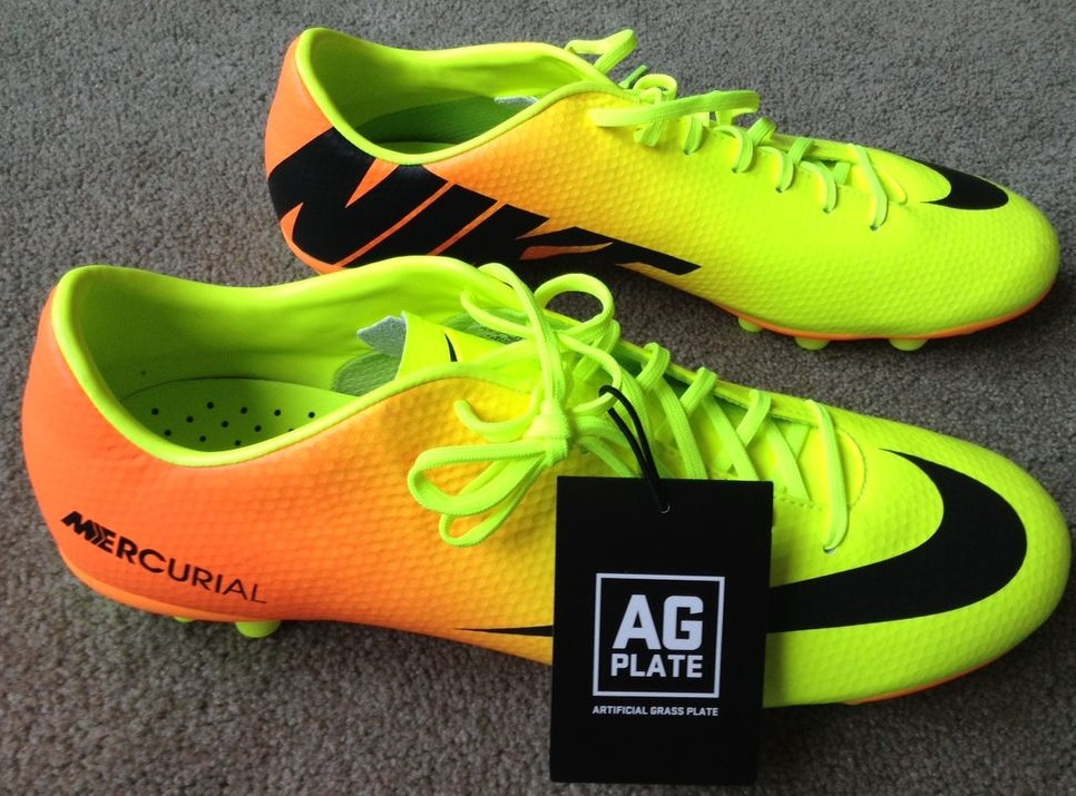 nike mercurial veloce ix ag boot review soccer cleats 101. Black Bedroom Furniture Sets. Home Design Ideas