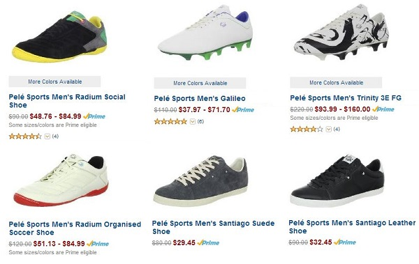 Pele Sports Lifestyle Sale
