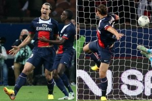 Zlatan Celebrates in Vapor IX