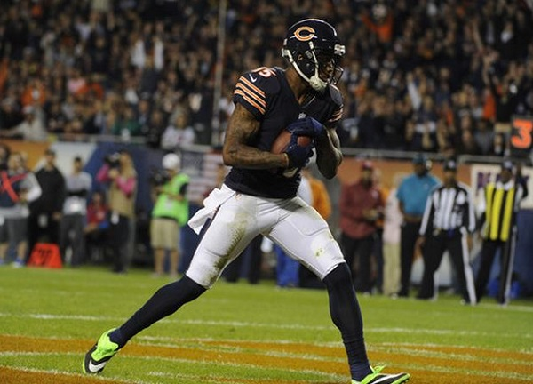 Brandon Marshall in Hypervenom Phatal
