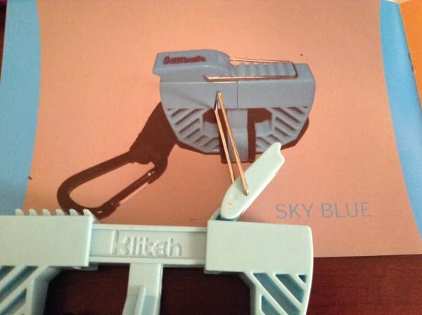 The klitch footwear clip