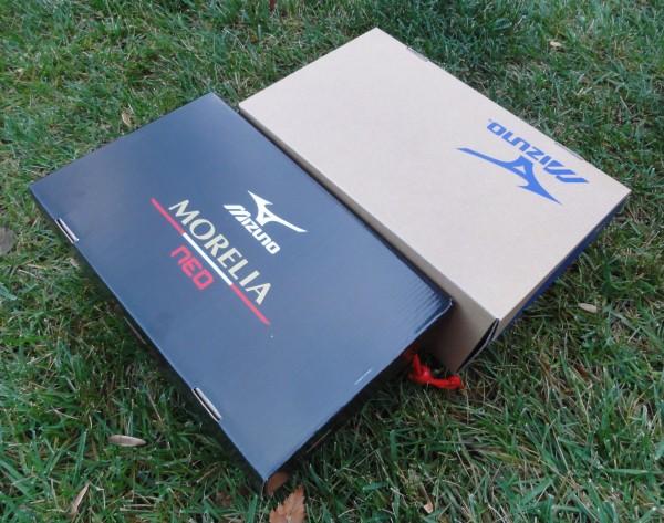 Mizuno Boots Boxed