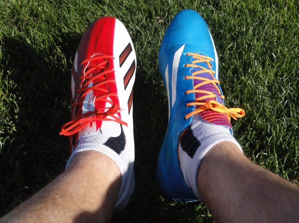 New vs Old F50 adiZero