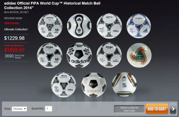 World Cup Ball Set