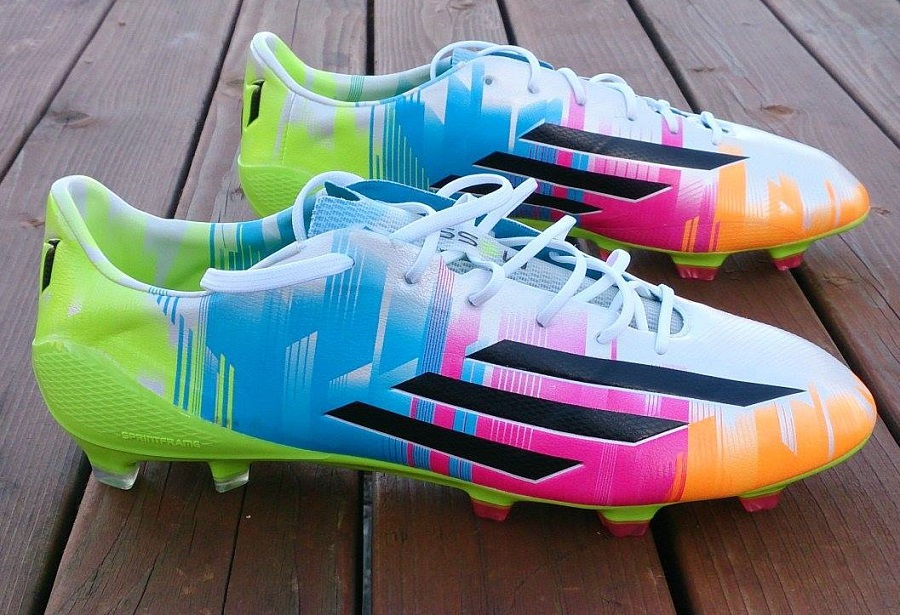 0e90cbacd76 Adidas adiZero F50 Messi Edition - Up close