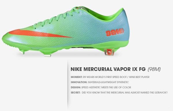 separation shoes 192e4 4c516 Nike Mercurial Vapor IX Goes