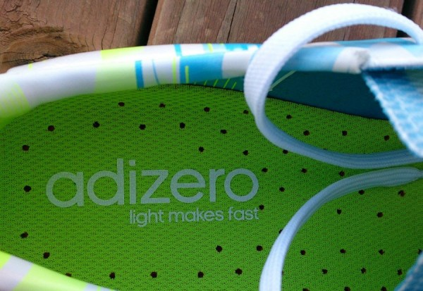 adiZero Light Makes Fast