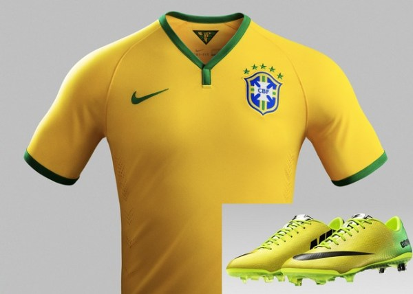 nike mercurial 06 colorway with brazil home kit