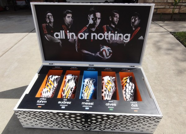 Adidas Battle Pack Presentation Case