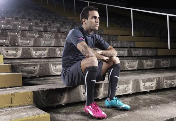 Cesc Fabregas in PUMA, Olympic Stadium, Barcelona