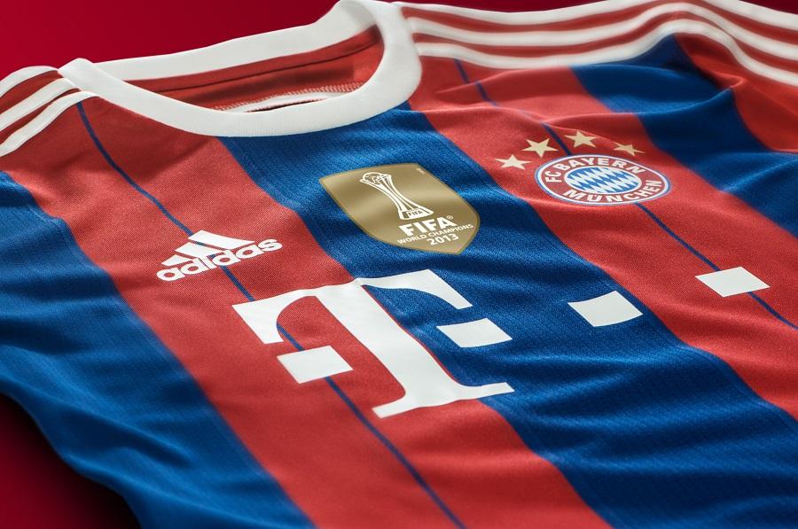 Bayern Munich 2014 2015 Home Kit Winning Stripes Soccer Cleats 101