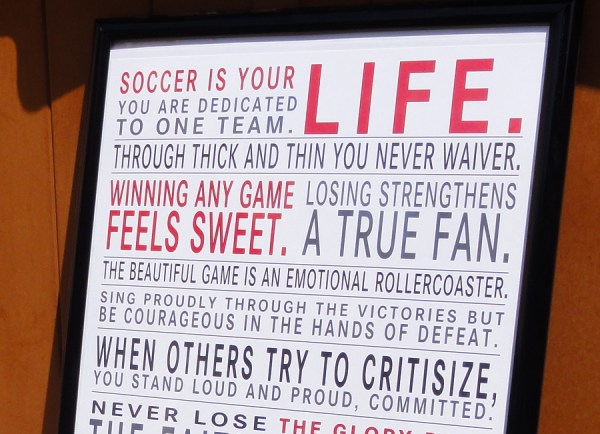 Ultimate Soccer Fan Print