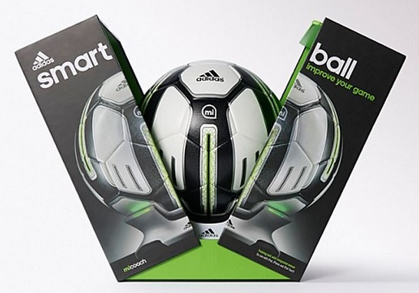 miCoach SMART BALL Adidas Take Things to Another Level